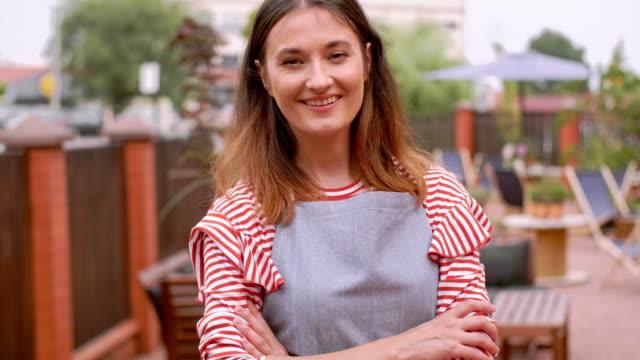 portrait of barista/ debica/ poland - employee bildbanksvideor och videomaterial från bakom kulisserna