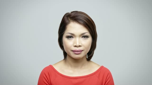 portrait of businesswoman wearing smart casuals - hair length stock videos and b-roll footage