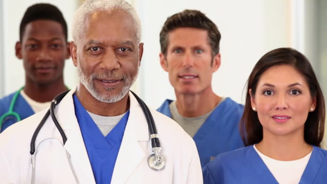 CU PAN Portrait of Diverse Group of Medical Workers / Richmond, Virginia, United States