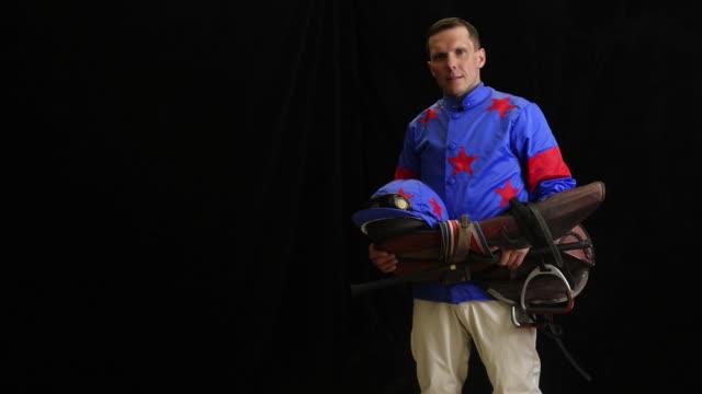Portrait of Jockey