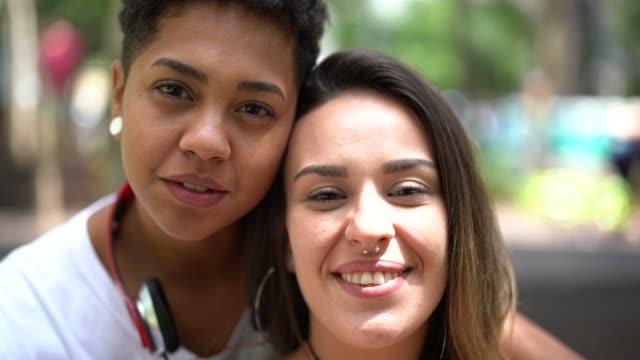 Portrait du Couple lesbien