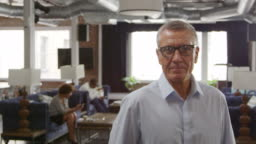 Portrait Of Mature Businessman In Office Shot On R3D