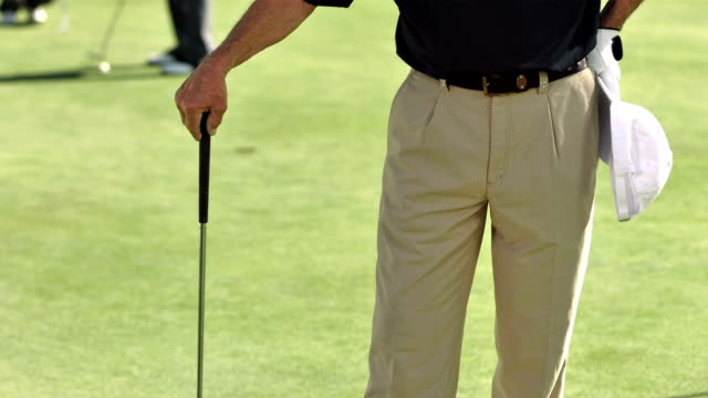 MS TU DS Portrait Of Professional Golf Coach