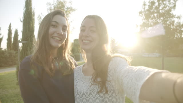 portrait of sisters - tuscany stock videos & royalty-free footage