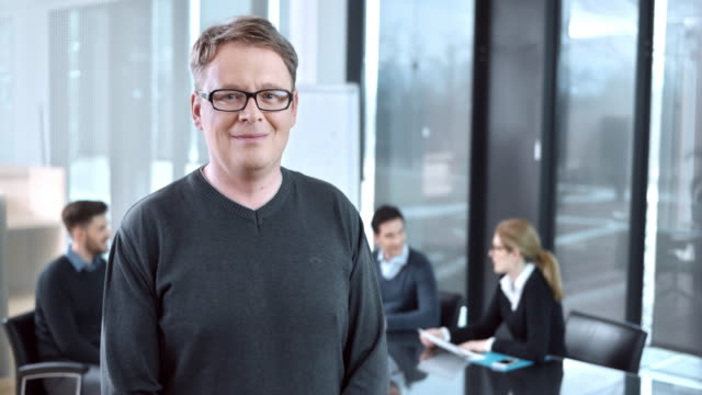 DS Porträt der executive director of production team