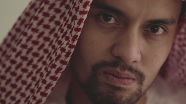 portrait : saudi man - distracted stock videos & royalty-free footage