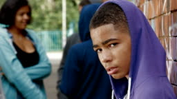 Portrait: teenage boy