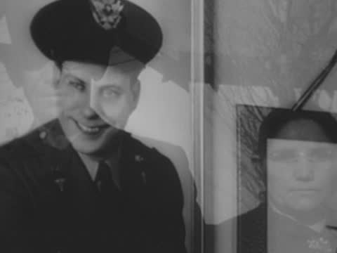 portraits and family shots of the us soldiers killed during pearl harbor attack - oahu stock videos & royalty-free footage