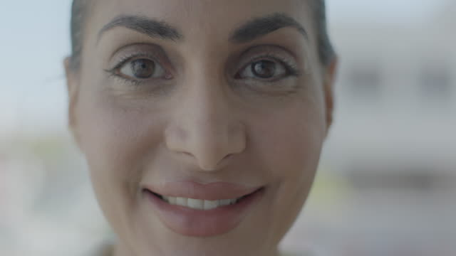 portraits of muslim women - middle eastern ethnicity stock videos & royalty-free footage