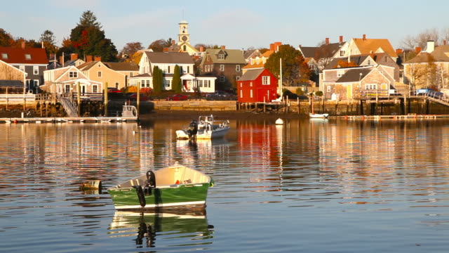 portsmouth, new hampshire - new hampshire stock-videos und b-roll-filmmaterial