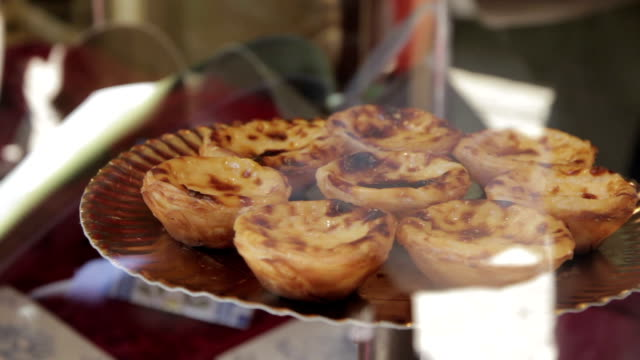 portugal lisboa pasteis de nata - lisbon stock videos and b-roll footage