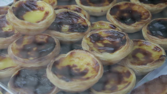 portugal lisboa pasteis de nata - portuguese culture stock videos & royalty-free footage