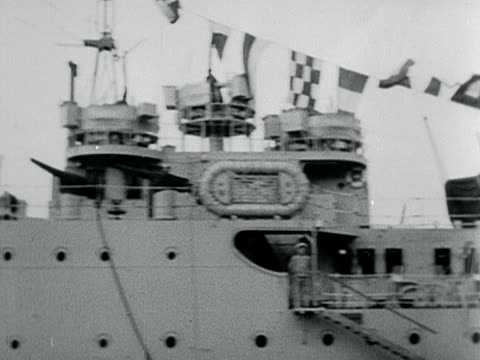 a portugese battleship is moored near tower bridge - 1899 stock videos & royalty-free footage