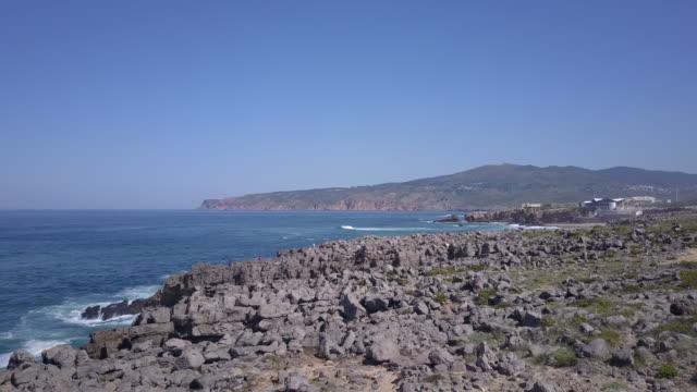 ポルトガルの海岸 - カスカイス点の映像素材/bロール