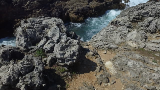 portuguese shore in cascais - cascais stock videos and b-roll footage