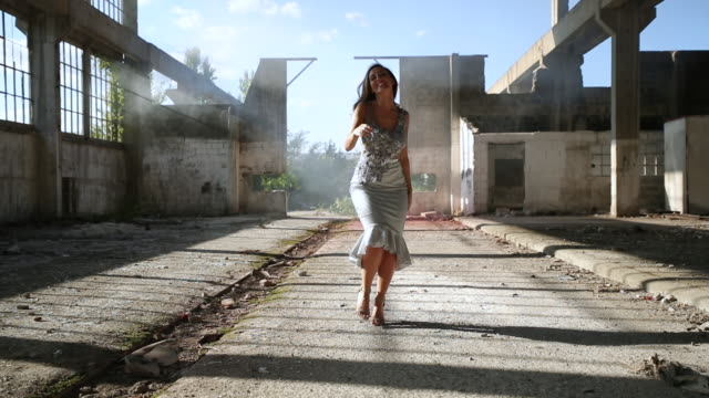 posing in a dress - full length stock videos & royalty-free footage