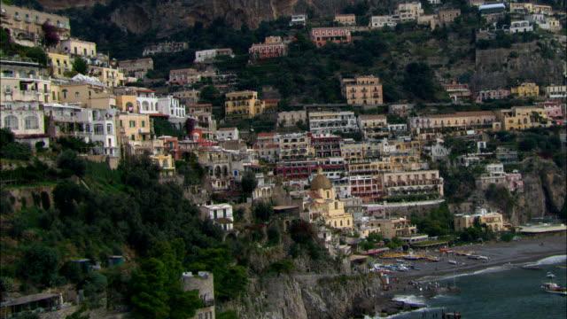 Positano  - Aerial View - Campania, Provincia di Salerno, Positano, Italy