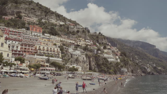 positano and the amalfi coast - italian culture stock videos & royalty-free footage