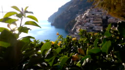 Positano, beautiful Mediterranean village on Amalfi Coast (Costiera Amalfitana) in Campania, Italy