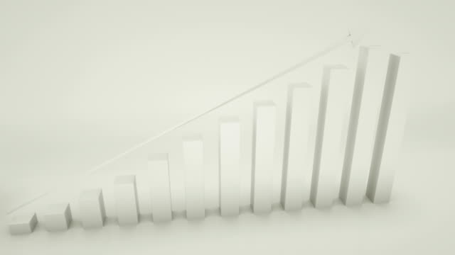 positive trend chart - bar graph stock videos & royalty-free footage