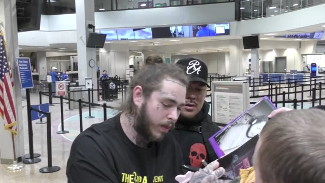 INTERVIEW Post Malone on filming 'Ghost Adventures' at the Sundance Film Festival at Salt Lake City International Airport in Utah at Celebrity...