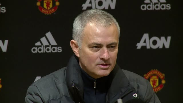 Post match press conference with Manchester United manager Jose Mourinho after their 20 win against Watford