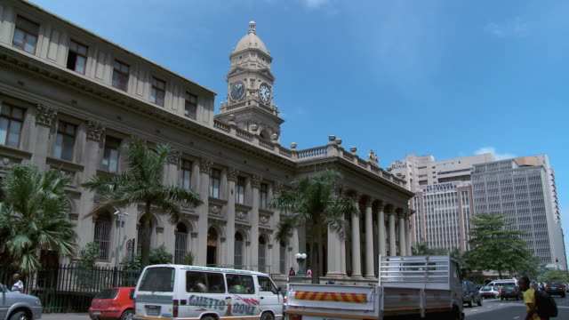 la post office building at durban city center / durban, south africa - durban stock videos and b-roll footage