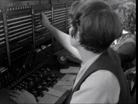 pickets at international telephone exchange england london pickets at international exchange interview with woman who worked int tracking... - mail stock videos & royalty-free footage