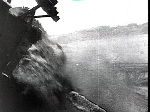 post revolution and civil war economic recovery vs factory chimneys electric power station turbines dam thaw and foaming water - 1910 1919 stock videos and b-roll footage
