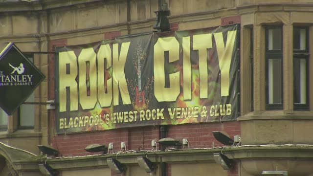 poster in blackpool in england - poster stock videos & royalty-free footage