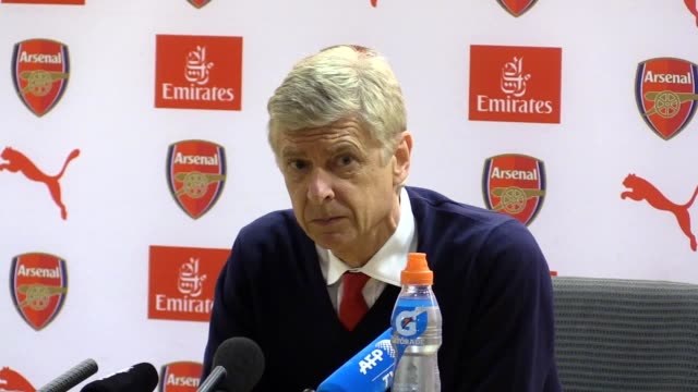 Postmatch press conference with Arsenal manager Arsene Wenger following their 31 win on the final day of the Premier League season Alexis Sanchez...