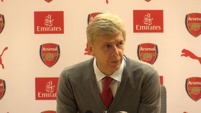 Postmatch press conference with Arsenal manager Arsene Wenger following their 10 win over Doncaster Rovers in the Carabao Cup Third Round