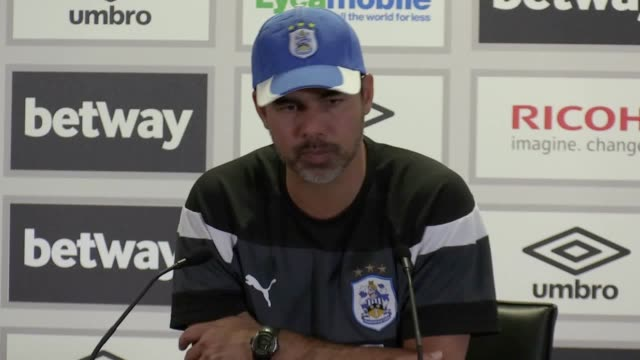 Postmatch press conference with Huddersfield manager David Wagner following his side's 20 loss to West Ham in the Premier League