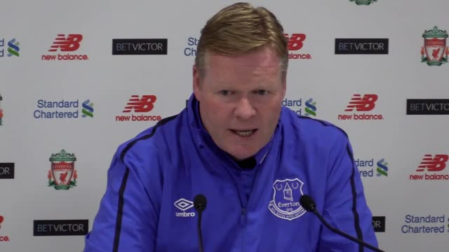 Postmatch press conference with Ronald Koeman following Liverpool's 31 derby win over Everton He describes how his team were unlucky the passion on...