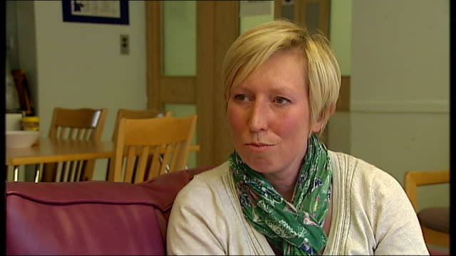 new inquiry examines treatment of patients; kate webb interview sot - talks of how she was cared for at the hospital as she was treated for postnatal... - postpartum depression stock videos & royalty-free footage