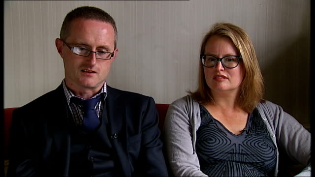 new inquiry examines treatment of patients; hannah dunstan interview sot - there was an assumption that we couldn't look after samuel tex dunstan... - postpartum depression stock videos & royalty-free footage