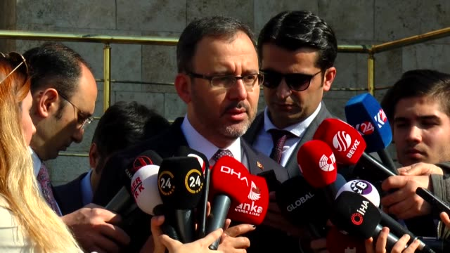 postponing league games or playing matches without fans due to coronavirus fears is not on turkey's agenda said turkey's youth and sports minister... - sports league stock videos & royalty-free footage