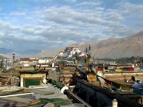ws, zi, potala palace, lhasa, tibet, china - traditionally tibetan stock videos & royalty-free footage