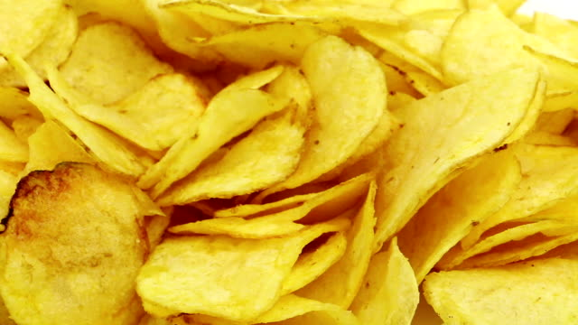 potato chips - crisps stock videos & royalty-free footage