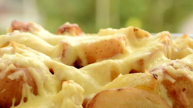 potato gratin - gratin stock videos & royalty-free footage