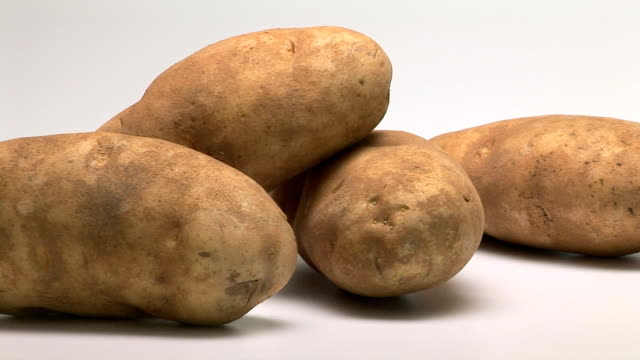 potato - five objects stock videos & royalty-free footage