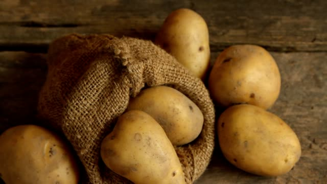 potatoes - raw potato stock videos & royalty-free footage