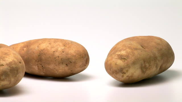 potatoes - five objects stock videos & royalty-free footage