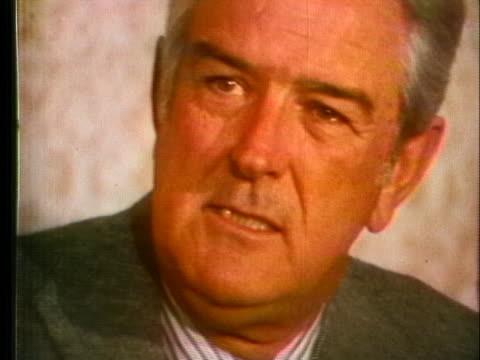 potential presidential candidate john connally discusses his chance of running for us president - john connally stock videos & royalty-free footage