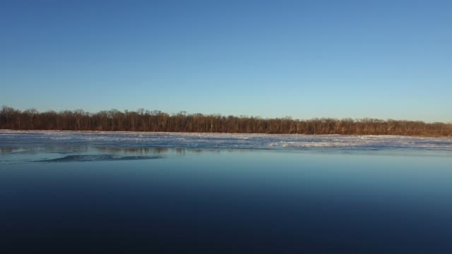 potomac river ice - river potomac stock videos & royalty-free footage