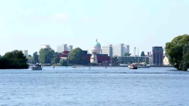 potsdam skyline - potsdam brandenburg stock videos & royalty-free footage