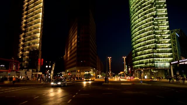 potsdamer platz, berlin - german culture stock videos & royalty-free footage