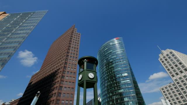 Potsdamer Platz, Exterior of Debis Tower, Kollhoff Tower an DB Tower, Berlin-Mitte, Germany