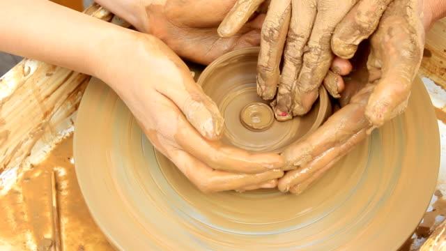 potters rad - keramiker stock-videos und b-roll-filmmaterial