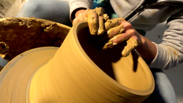 Pottery and Hand